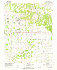 Download a high-resolution, GPS-compatible USGS topo map for Miller, MO (1973 edition)