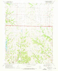 Download a high-resolution, GPS-compatible USGS topo map for Millersburg NE, MO (1971 edition)