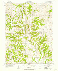 Download a high-resolution, GPS-compatible USGS topo map for Millville, MO (1958 edition)