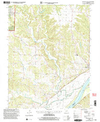 Download a high-resolution, GPS-compatible USGS topo map for Mokane West, MO (2003 edition)
