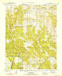 Download a high-resolution, GPS-compatible USGS topo map for Monegaw Springs, MO (1938 edition)