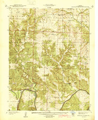 Download a high-resolution, GPS-compatible USGS topo map for Monegaw Springs, MO (1940 edition)