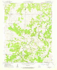 Download a high-resolution, GPS-compatible USGS topo map for Montevallo, MO (1963 edition)