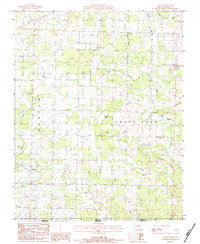 Download a high-resolution, GPS-compatible USGS topo map for Moody, MO (1984 edition)