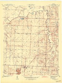 Download a high-resolution, GPS-compatible USGS topo map for Moundville, MO (1942 edition)