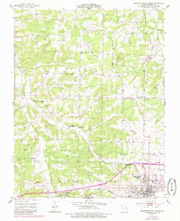 Download a high-resolution, GPS-compatible USGS topo map for Mountain Grove North, MO (1985 edition)
