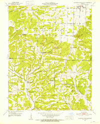 Download a high-resolution, GPS-compatible USGS topo map for Mountain Grove South, MO (1952 edition)