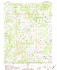 Download a high-resolution, GPS-compatible USGS topo map for Myrtle, MO (1984 edition)