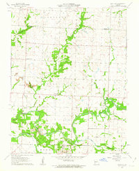 Download a high-resolution, GPS-compatible USGS topo map for Neck City, MO (1963 edition)