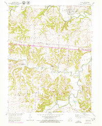 Download a high-resolution, GPS-compatible USGS topo map for Nelson, MO (1979 edition)