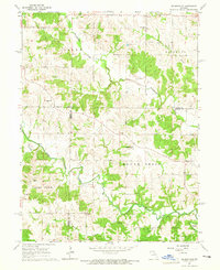 Download a high-resolution, GPS-compatible USGS topo map for Nelsonville, MO (1965 edition)