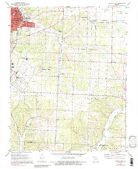 Download a high-resolution, GPS-compatible USGS topo map for Neosho East, MO (1984 edition)