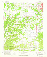 Download a high-resolution, GPS-compatible USGS topo map for Neosho West, MO (1973 edition)