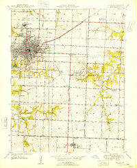 Download a high-resolution, GPS-compatible USGS topo map for Nevada, MO (1948 edition)
