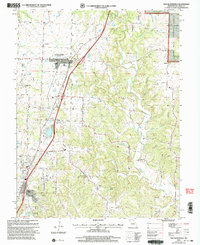 Download a high-resolution, GPS-compatible USGS topo map for New Bloomfield, MO (2003 edition)