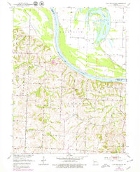 Download a high-resolution, GPS-compatible USGS topo map for New Frankfort, MO (1979 edition)