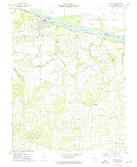 Download a high-resolution, GPS-compatible USGS topo map for New Haven, MO (1975 edition)