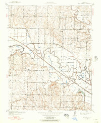 Download a high-resolution, GPS-compatible USGS topo map for New Home, MO (1957 edition)