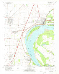 Download a high-resolution, GPS-compatible USGS topo map for New Madrid, MO (1973 edition)