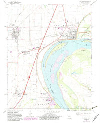 Download a high-resolution, GPS-compatible USGS topo map for New Madrid, MO (1983 edition)