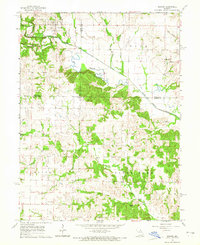 Download a high-resolution, GPS-compatible USGS topo map for Newark, MO (1965 edition)