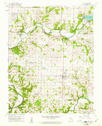 Download a high-resolution, GPS-compatible USGS topo map for Nixa, MO (1961 edition)