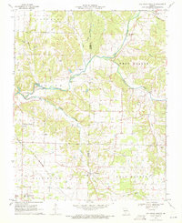 Download a high-resolution, GPS-compatible USGS topo map for Oak Grove Heights, MO (1971 edition)