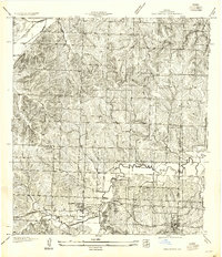 Download a high-resolution, GPS-compatible USGS topo map for Oak Grove, MO (1955 edition)