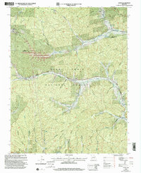 Download a high-resolution, GPS-compatible USGS topo map for Oates, MO (2002 edition)