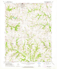 Download a high-resolution, GPS-compatible USGS topo map for Odessa South, MO (1964 edition)