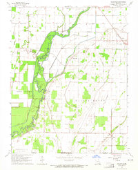 Download a high-resolution, GPS-compatible USGS topo map for Oglesville, MO (1965 edition)