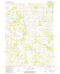 Download a high-resolution, GPS-compatible USGS topo map for Omaha, MO (1980 edition)