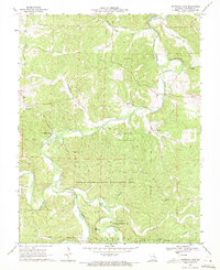 Download a high-resolution, GPS-compatible USGS topo map for Onondaga Cave, MO (1971 edition)