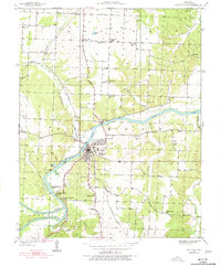 Download a high-resolution, GPS-compatible USGS topo map for Osceola, MO (1977 edition)