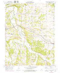 Download a high-resolution, GPS-compatible USGS topo map for Otterville East, MO (1979 edition)