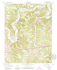 Download a high-resolution, GPS-compatible USGS topo map for Ozark Springs, MO (1985 edition)