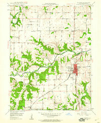Download a high-resolution, GPS-compatible USGS topo map for Palmyra, MO (1960 edition)