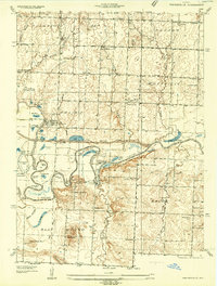 Download a high-resolution, GPS-compatible USGS topo map for Papinsville, MO (1934 edition)
