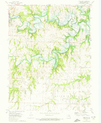 Download a high-resolution, GPS-compatible USGS topo map for Paris East, MO (1974 edition)
