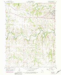 Download a high-resolution, GPS-compatible USGS topo map for Paris West, MO (1984 edition)