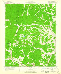 Download a high-resolution, GPS-compatible USGS topo map for Parker Lake, MO (1960 edition)
