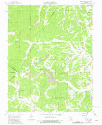 Download a high-resolution, GPS-compatible USGS topo map for Parker Lake, MO (1982 edition)