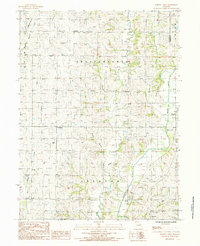 Download a high-resolution, GPS-compatible USGS topo map for Parnell West, MO (1985 edition)