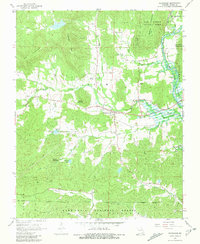 Download a high-resolution, GPS-compatible USGS topo map for Patterson, MO (1981 edition)