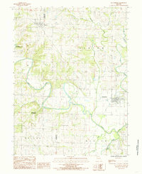 Download a high-resolution, GPS-compatible USGS topo map for Pattonsburg, MO (1985 edition)