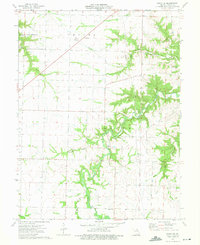 Download a high-resolution, GPS-compatible USGS topo map for Perry NE, MO (1975 edition)