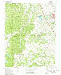 Download a high-resolution, GPS-compatible USGS topo map for Perryville West, MO (1980 edition)