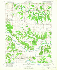 Download a high-resolution, GPS-compatible USGS topo map for Philadelphia, MO (1967 edition)