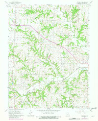 Download a high-resolution, GPS-compatible USGS topo map for Pittsville, MO (1981 edition)