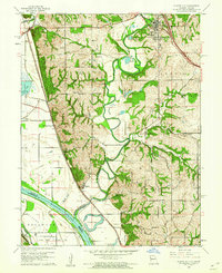 Download a high-resolution, GPS-compatible USGS topo map for Platte City, MO (1962 edition)